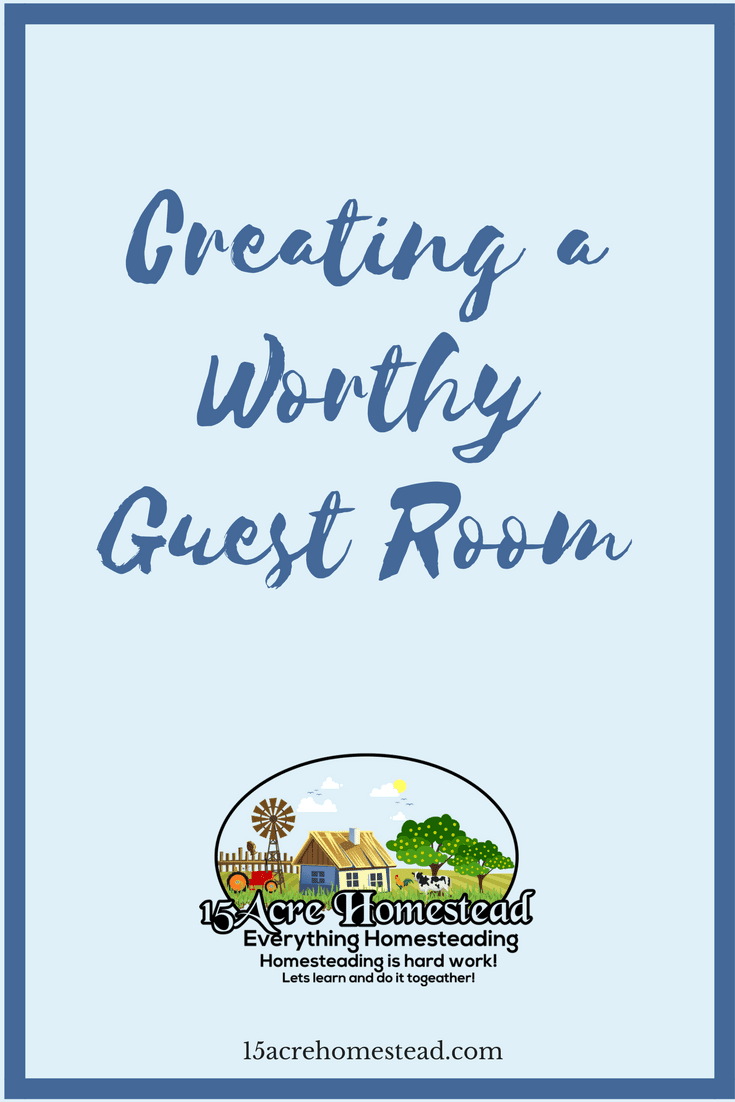 You can create a worthy guest room in your home easily.