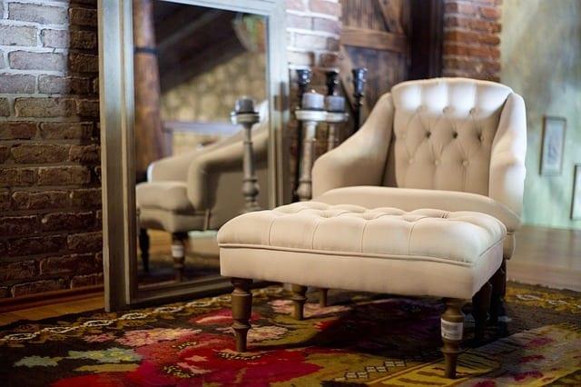 guest room - armchair
