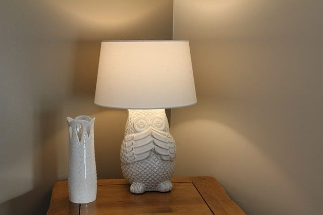 guest room - lamps