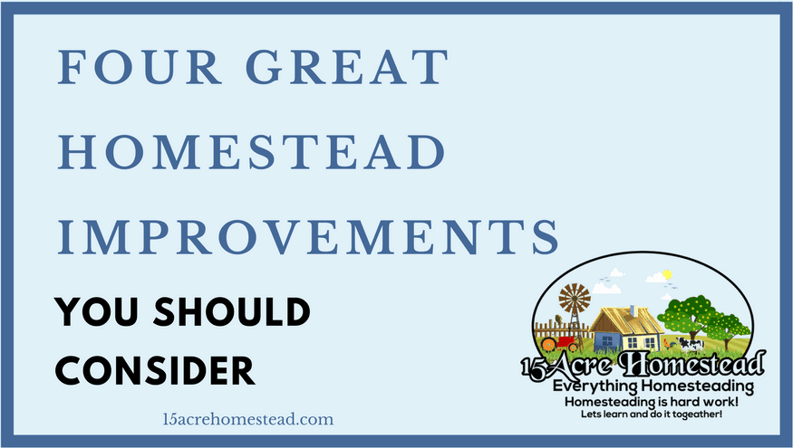 homestead improvements