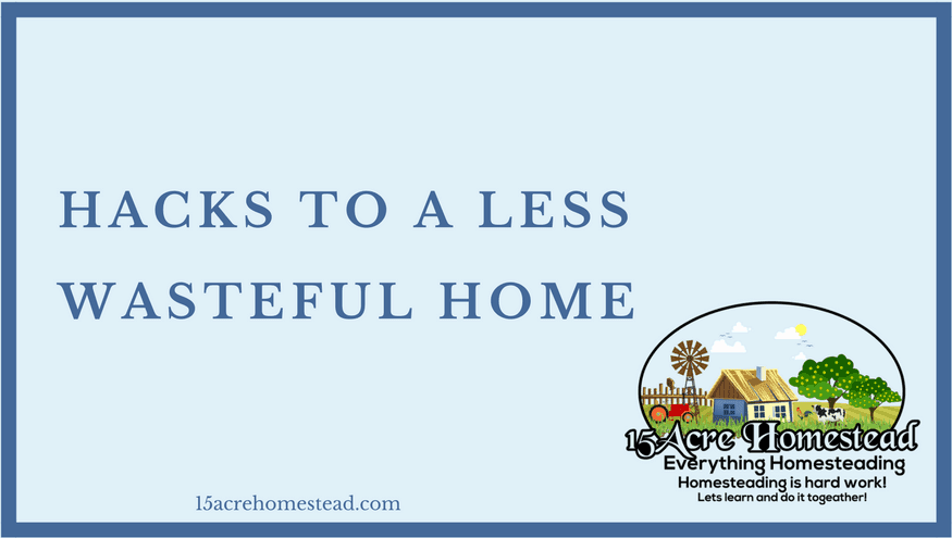 less wasteful home