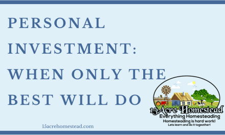 Personal Investment: When Only The Best Will Do
