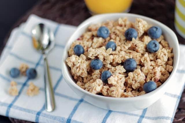 breakfast ideas- granola