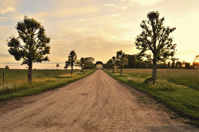 The Perfect Homestead Property-dirt road