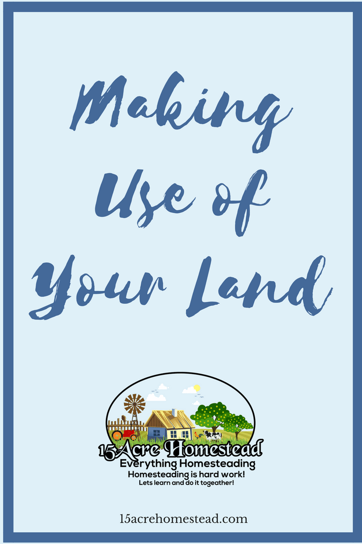 Having a lot of land sometimes leaves some of the space being unused and wasted. Learn some simple ideas for making use of your land.