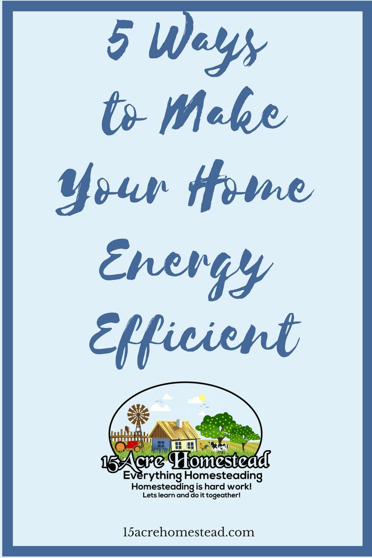 Making your home more energy efficient may seem costly in the beginning but the savings in the long run will pay off.