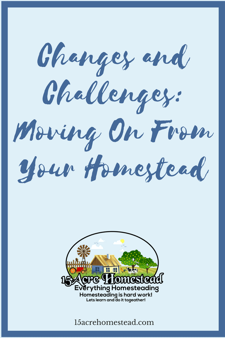 Moving on from the homestead is difficult but with these tips you can do so more easily.