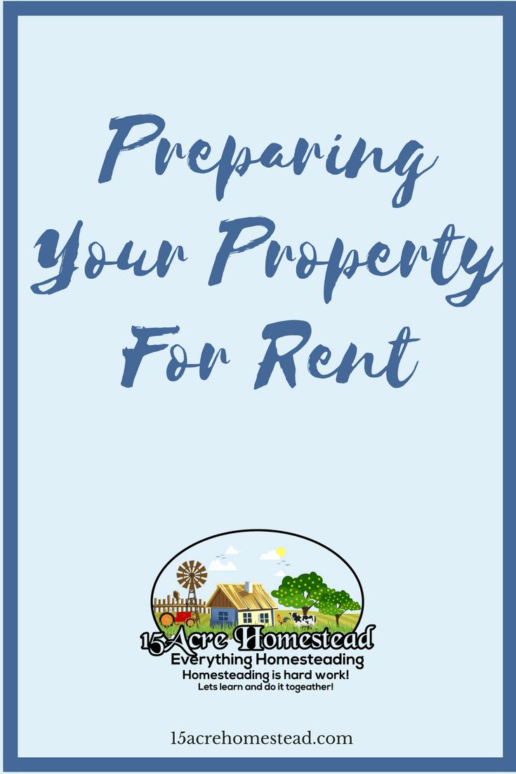 Preparing your property for rent is easy when you follow these tips to getting prepared.