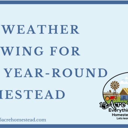All-Weather Growing For The Year-Round Homestead