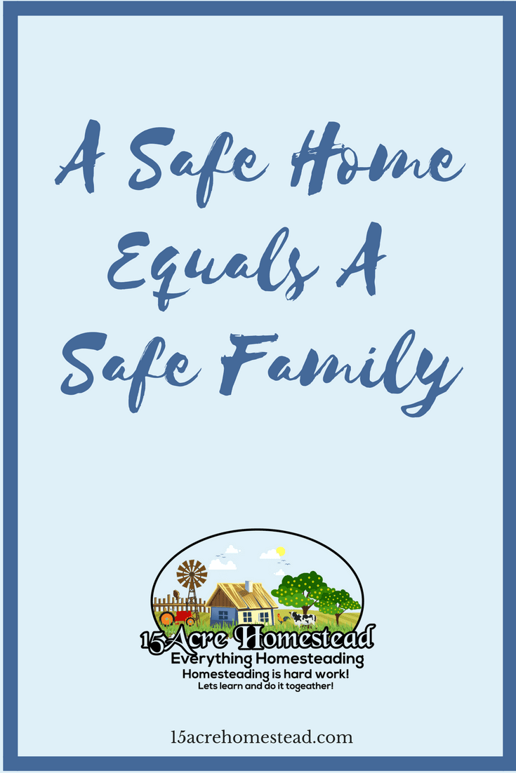 Here are 10 simple ideas that will help transform your home into a safe home for your family.