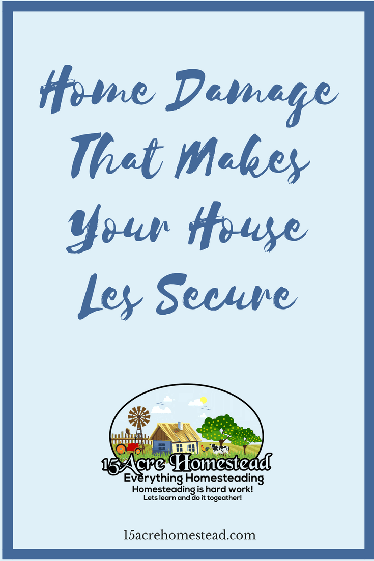 Some home damage can potentially put your family and your home at risk. Make these necessary repairs today.