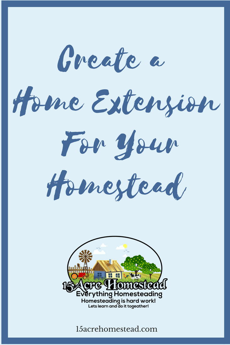 Sometimes you need a home extension added to your homestead to make your home more usable and feasible for you.