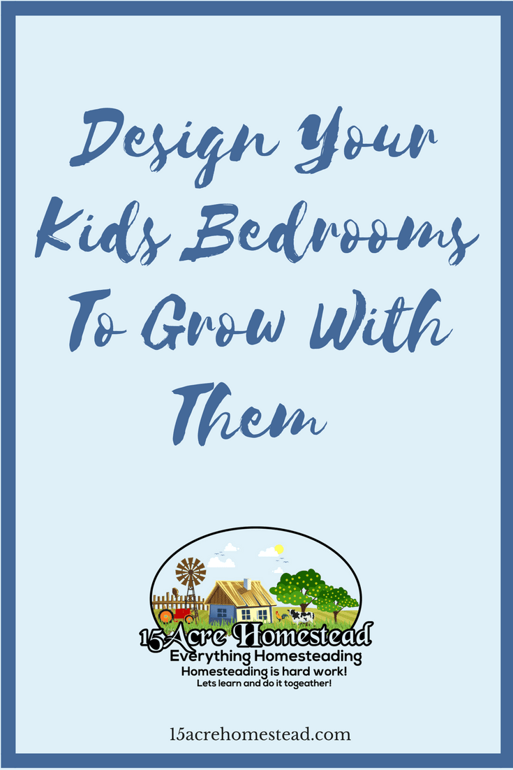 You can simply design your kids bedrooms to grow with them easily with these tips.
