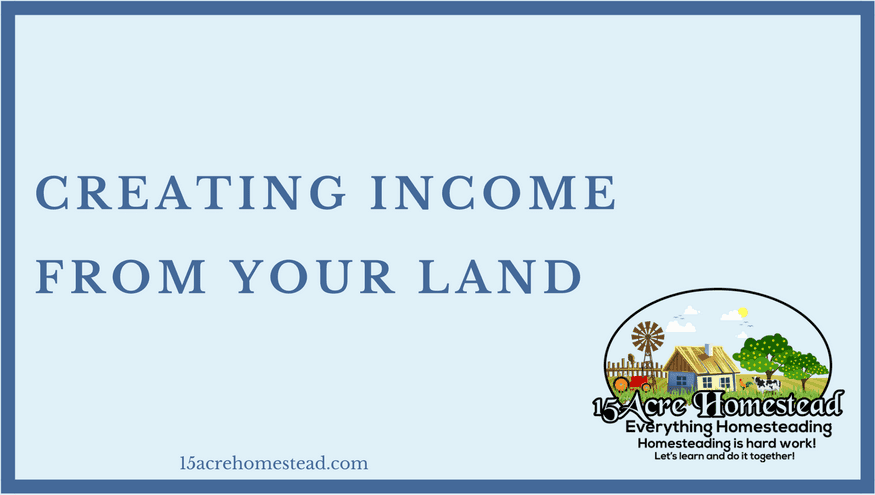 creating income