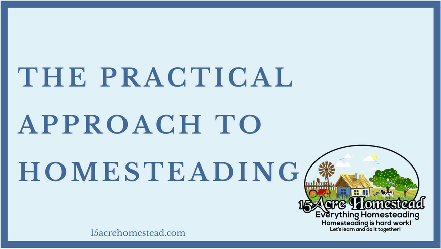 practical approach to homesteading