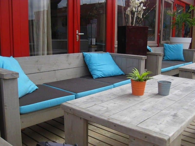 sociable outdoor space