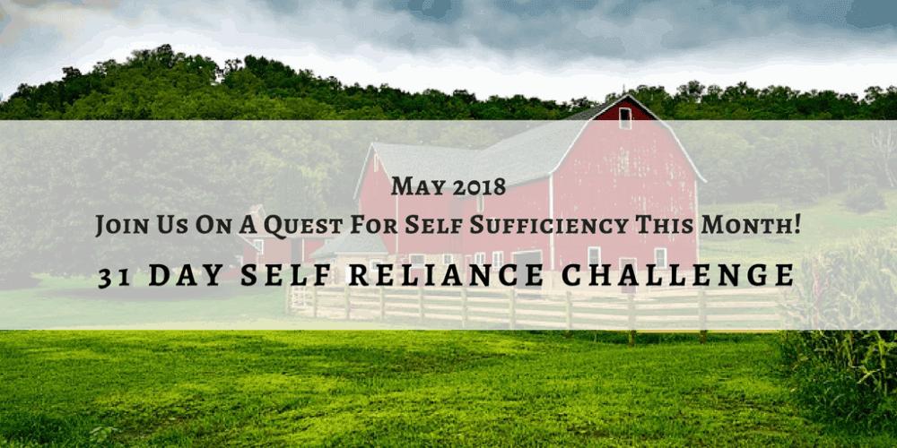 Self-Reliance Challenge: Week 1 Garden Achievements