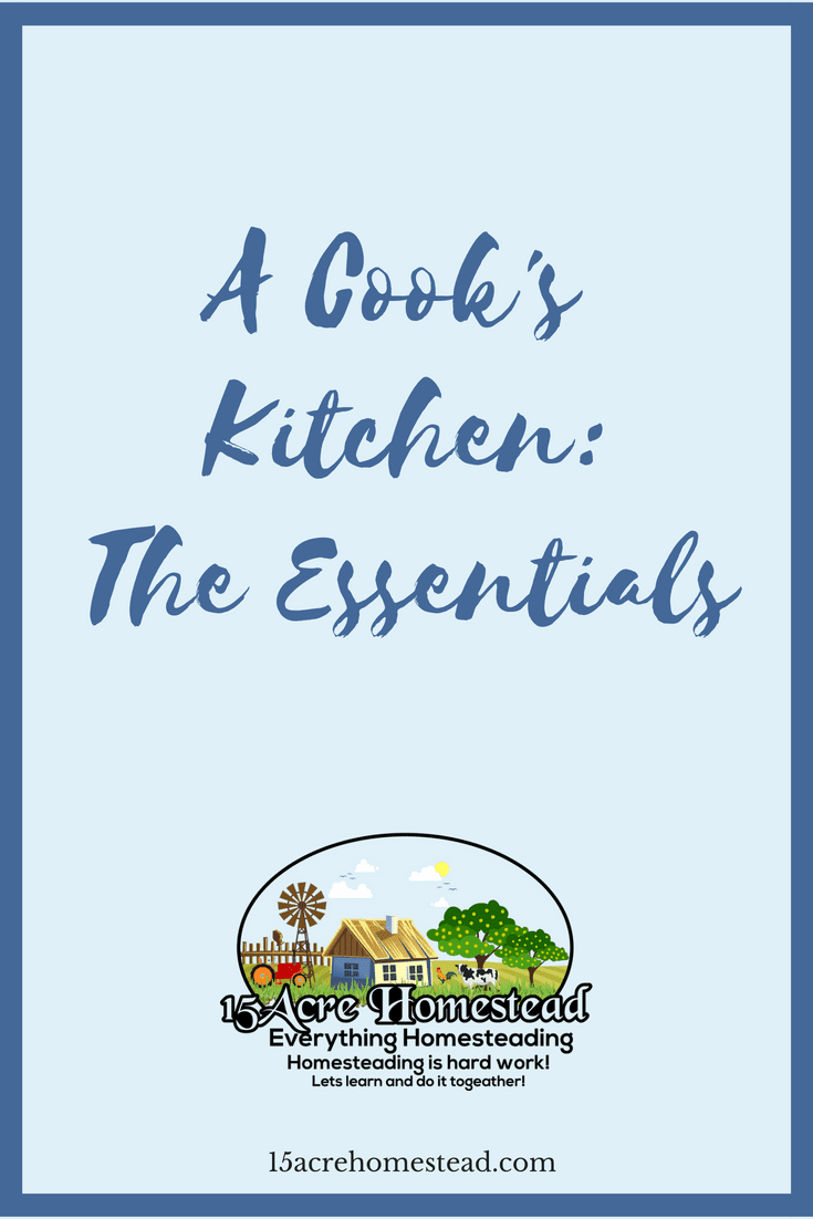 Do you have all the essentials to have a cook's kitchen in your home_