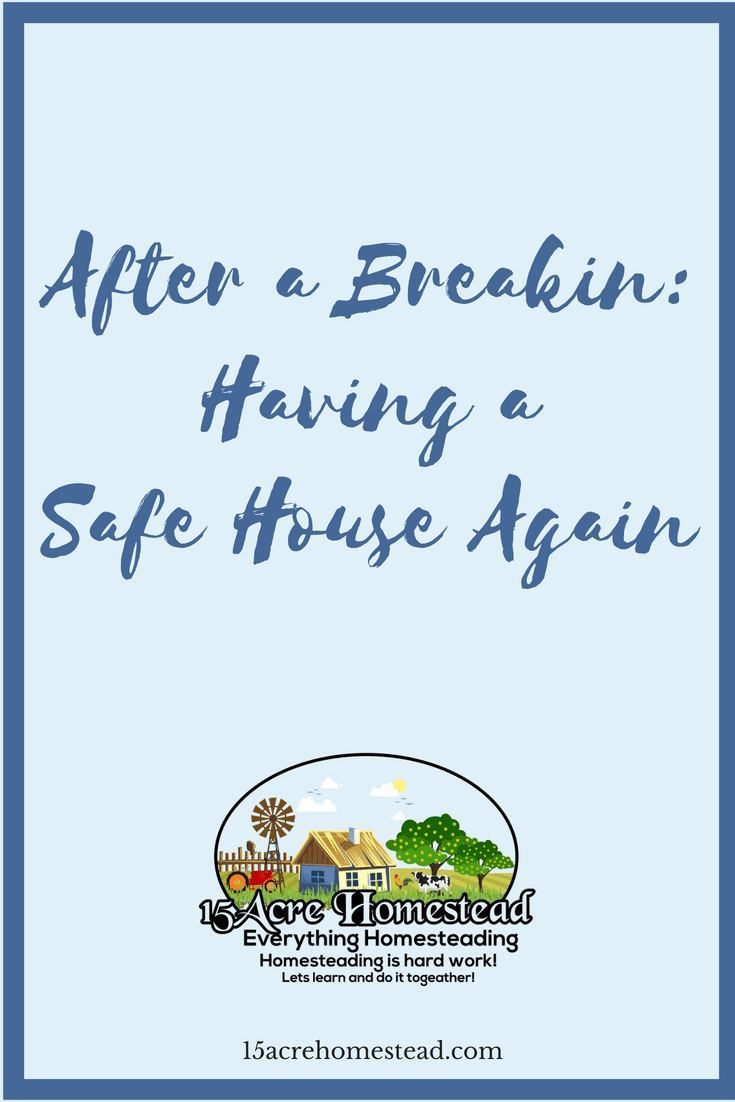 It is possible to have a safe house again after a breakin by following these tips to restoring your home.