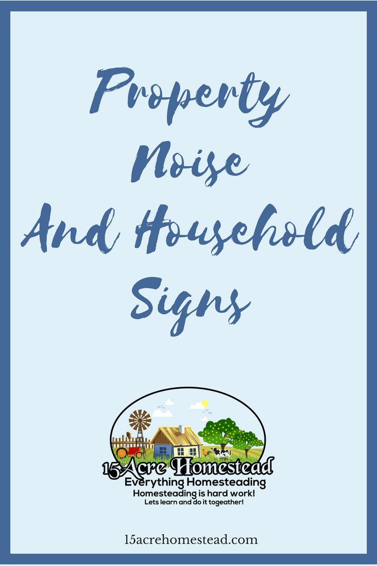 Just because you hear property noise doesn't mean you have a haunted house. It could mean you need to do some maintenance.