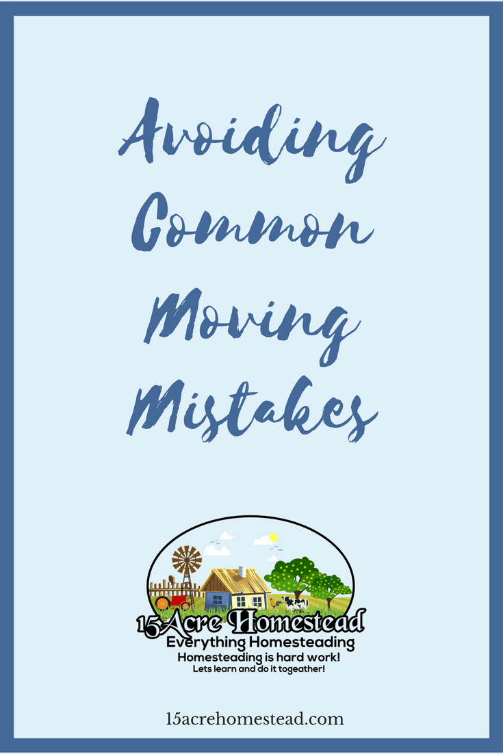 Moving can be less stressful if you can avoid these common moving mistakes.