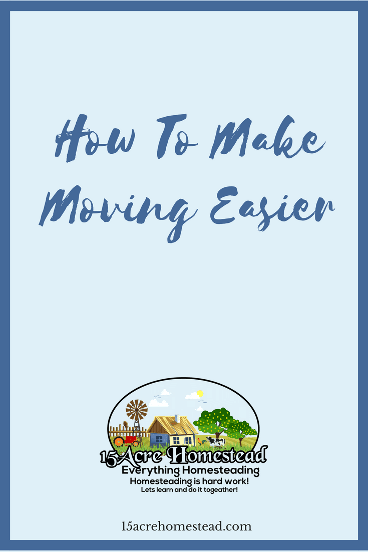 Moving is stressful, but you can make moving easier by using these tips and tricks.
