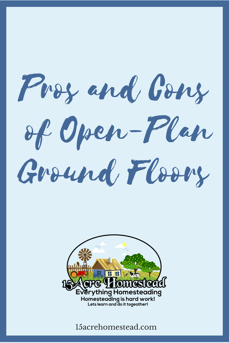 Open-plan ground floors can be beneficial or hurtful depending on your family situation. Find out the pros and cons before you buy.