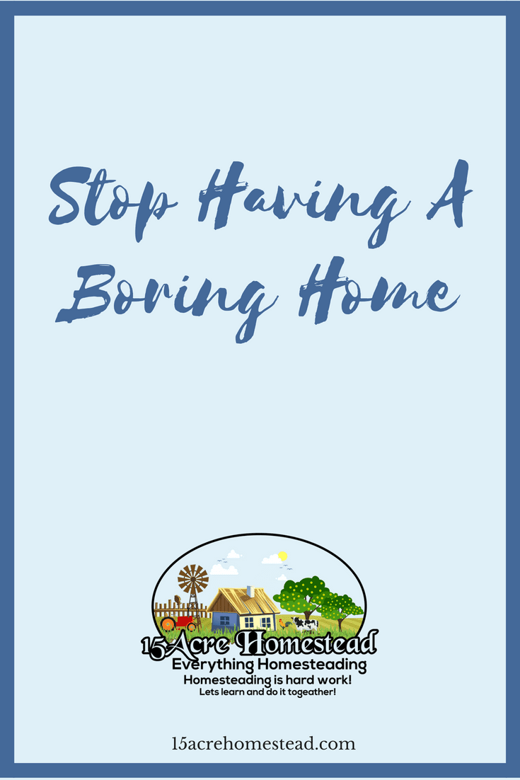 Revive you home from boring home to cozy home when you follow these simple steps.