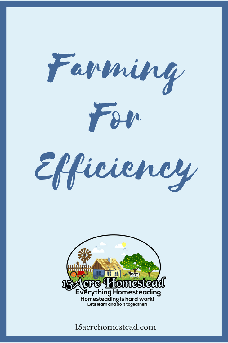 There are many ways of improving your efficiency while farming.