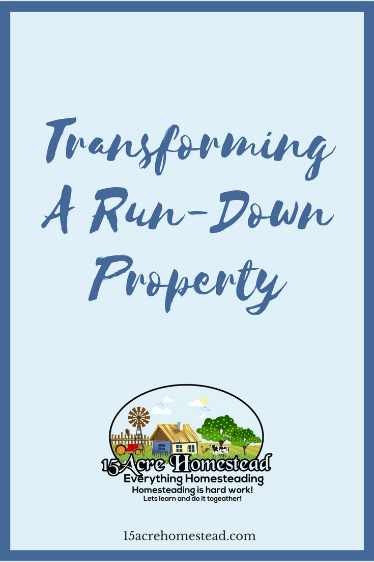 You can transform a run-down property without breaking the bank.