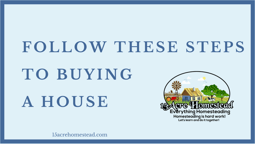 Follow These Steps To Buying A House