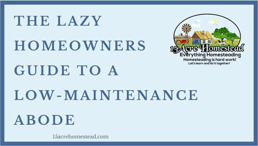 low maintenance