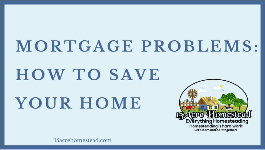 mortgage problems