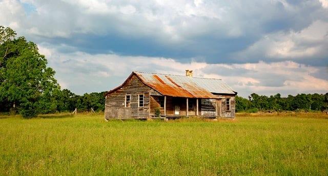 run-down property