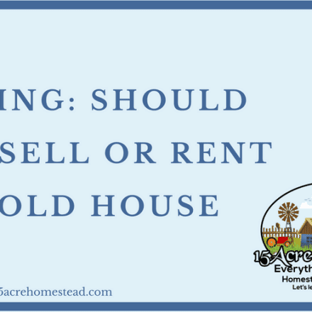 Moving: Should You Sell Or Rent The Old House?