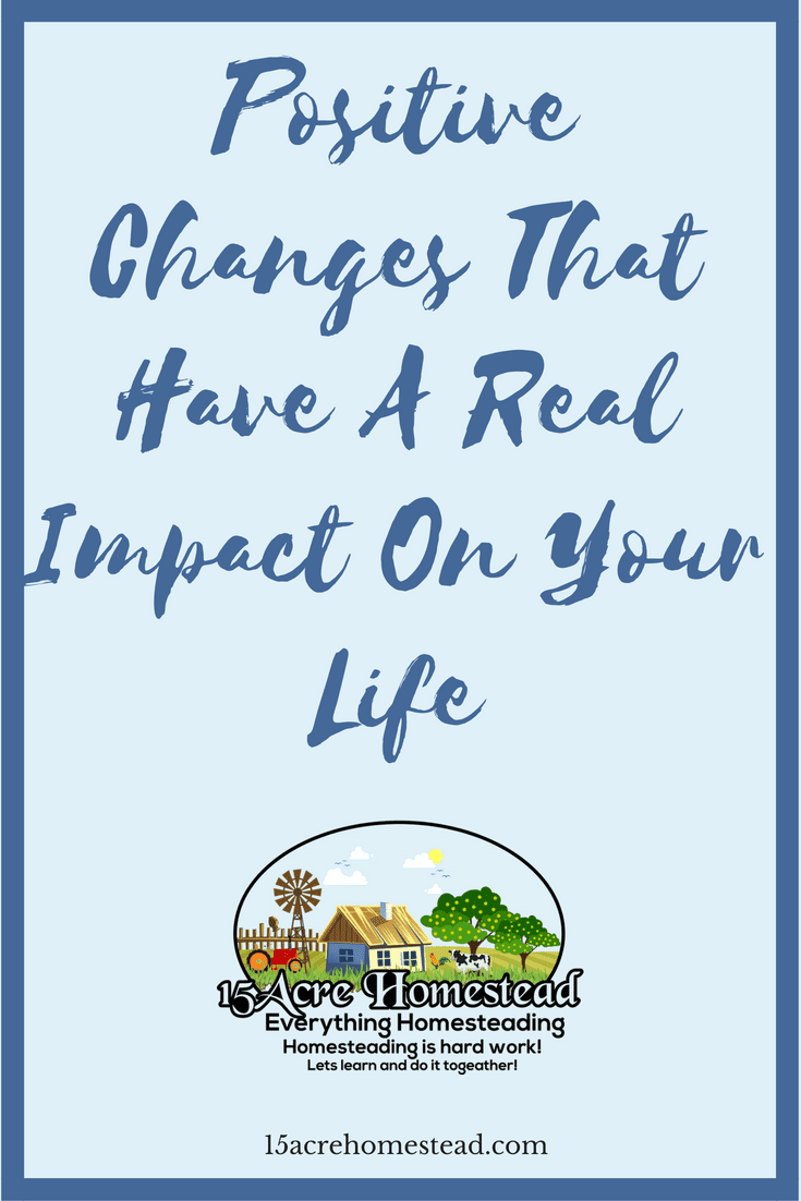 By making a few positive changes you can change your life around completely. Find out what positive changes you should make.