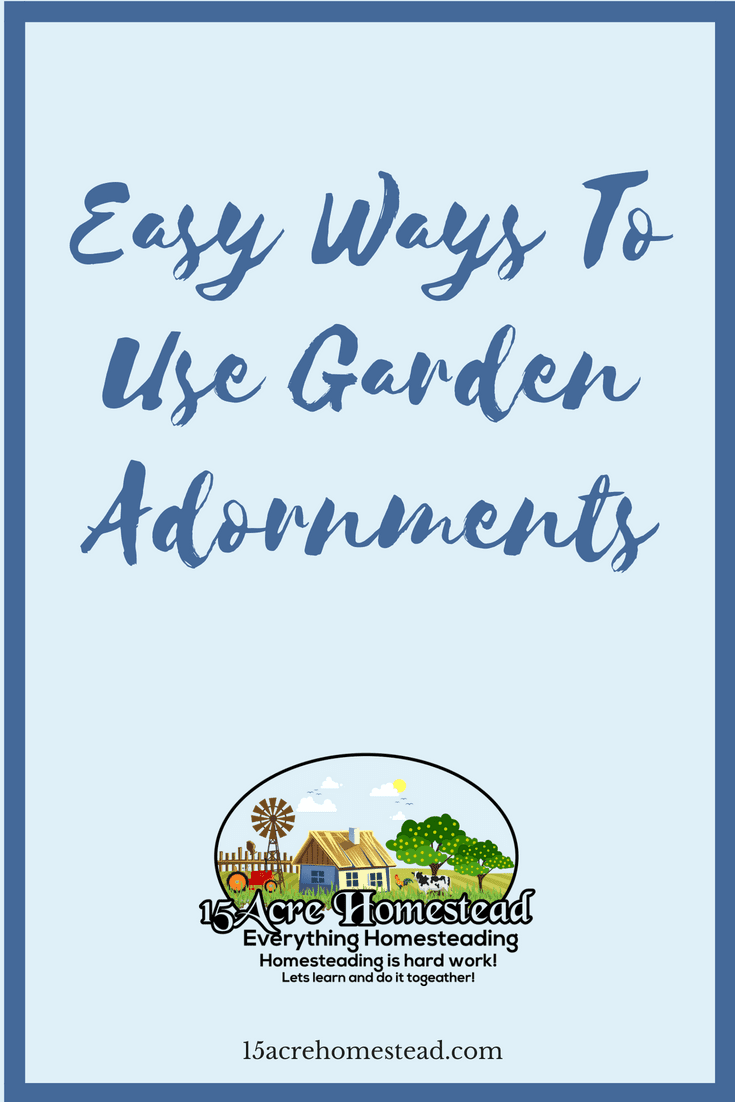 Garden adornments can bring your outdoor space to new life. Try these simple ideas.