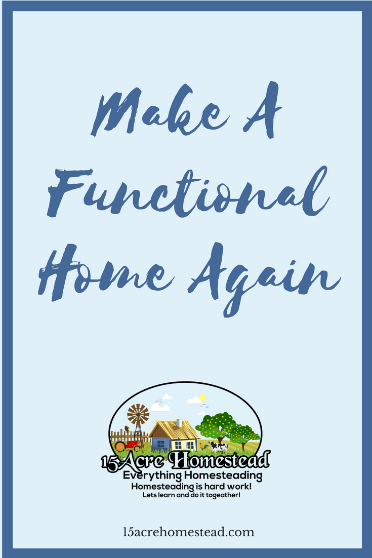 It is easy to make a functional home from any home by following these simple tips.