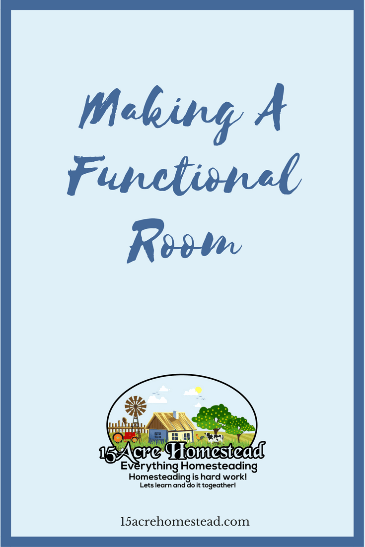 It is easy to make a functional room if you follow these simple steps.