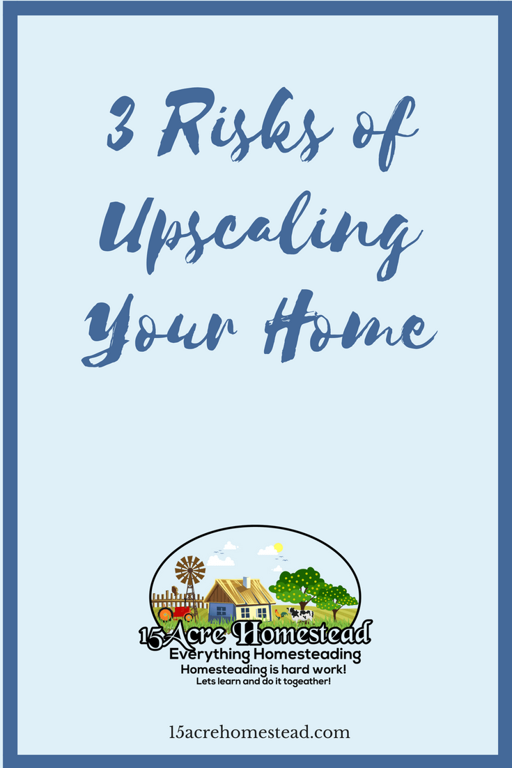 Upscaling your home is a common desire for homeowners. Some even say that it is the natural progression of your property investment.