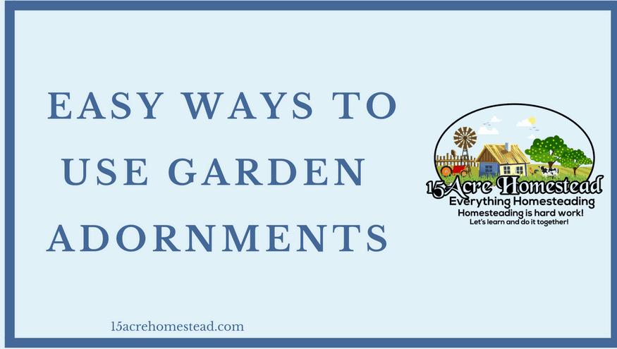 garden adornments