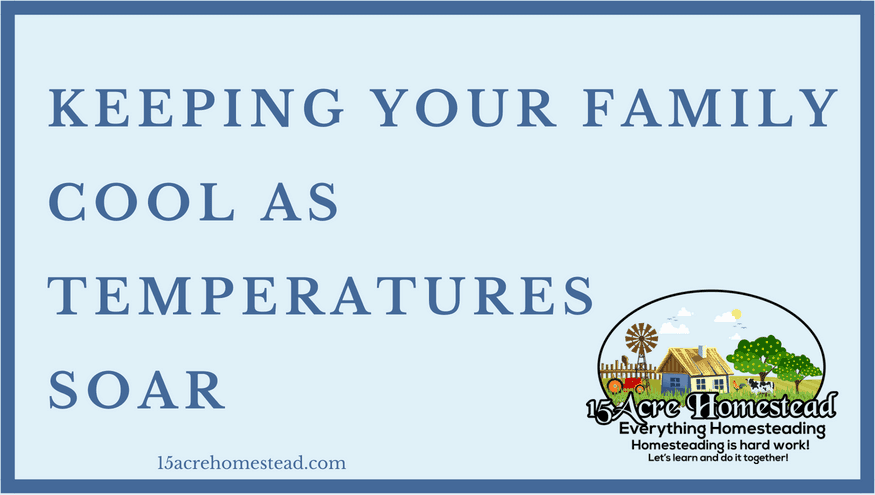 keeping your family cool