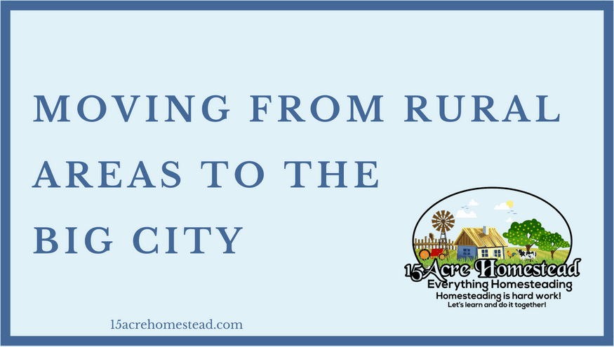 moving from rural areas