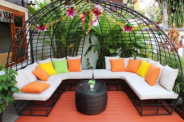 dreamy garden space