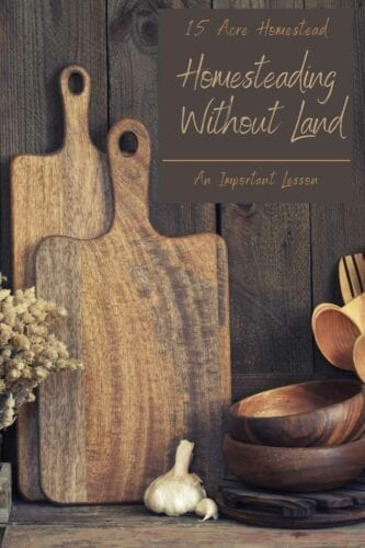 If you haven't started your homestead journey because you thought it was impossible to start homesteading without land, you may be surprised how easy it really is to get started.