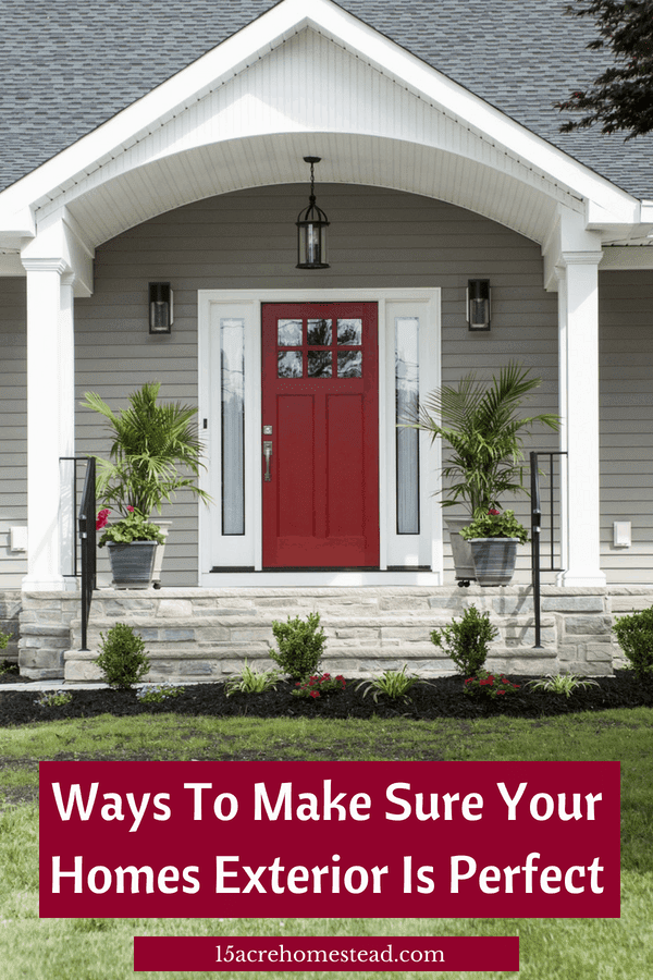 Keeping up with your home's exterior is important. Here are a few ways to make that exterior perfect again.