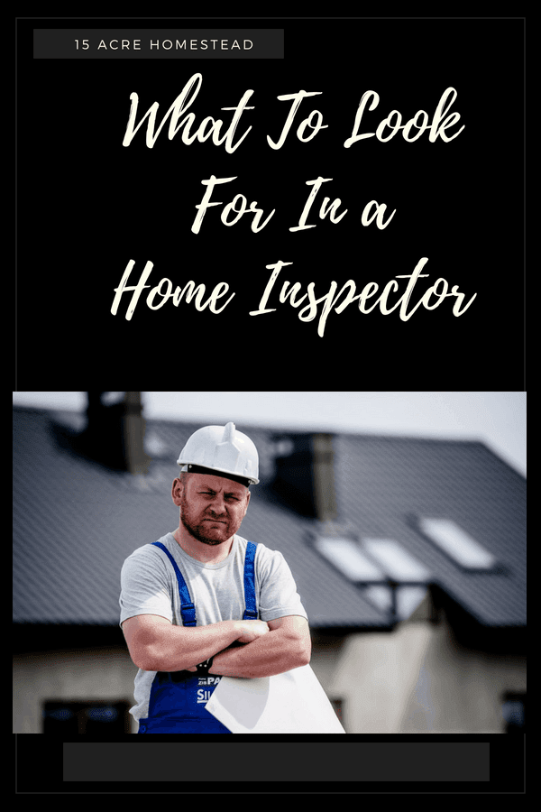 Knowing what to look for in a home inspector is important when buying a home.
