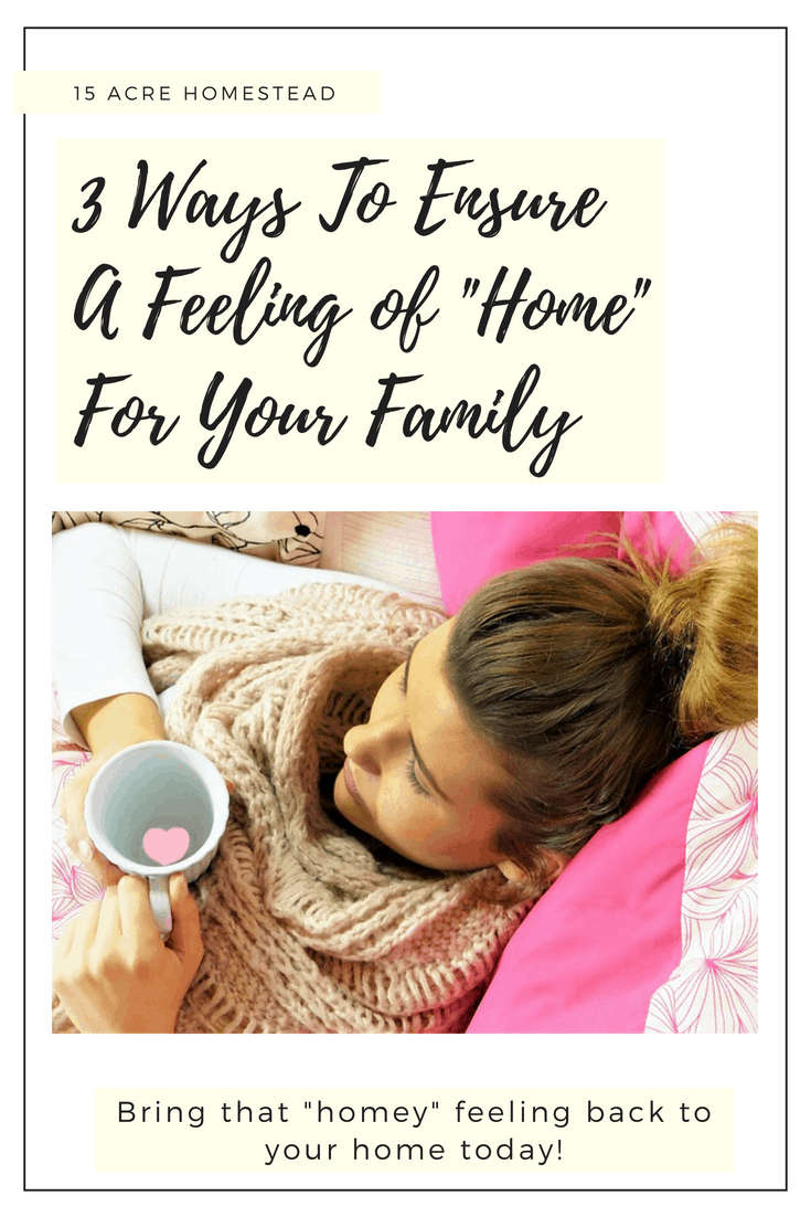 You can make your home feel way more _homey_ by doing these 3 things right now.