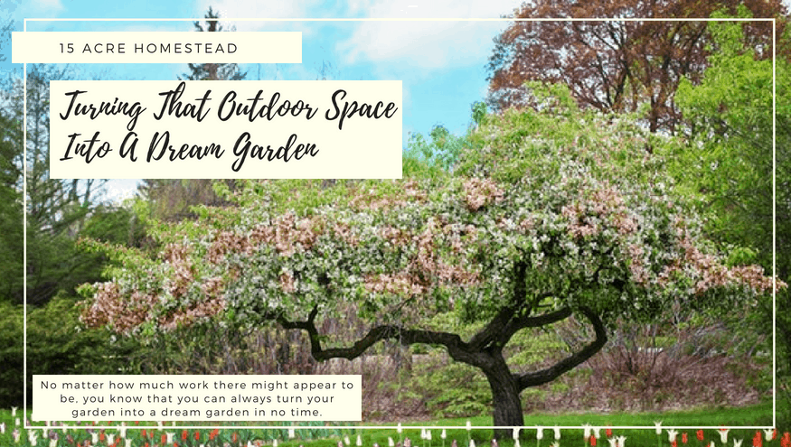 Turning That Outdoor Space Into A Dream Garden - 15 Acre Homestead