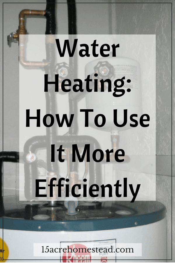 Check out these tips on how you can make better use of your water heating and determine the ones that will work best for you and your household.